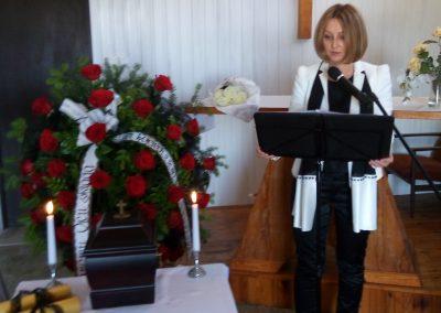 Urszula Różańska_pogrzeb świeck